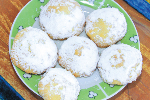 Cookies for Fasting, with Loukoumi Filling