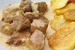 Pork Lemon with Potatoes and Mustard