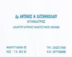 CHATZINIKOLAOU ANTONIOS M.