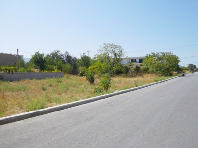 For Sale Plot Inside Drawing of City on Kos Island