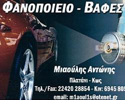 MIAOULIS ANTONIOS